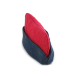 13e Bataillon Médical Side Cap (Red)