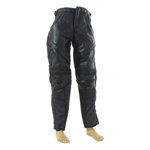 Leather Biker Pants (Black)