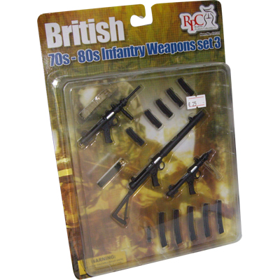 british weapons set 3 - 70s 80s