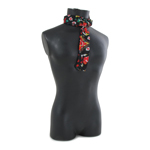 Patterned Scarf (Black)