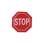 Stop Patch (Red)