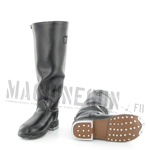 Black riding boots (leather)