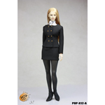 Female Business Wear Suit of Style Series (Black)