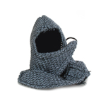 Chainmail Hood Protection (Grey)