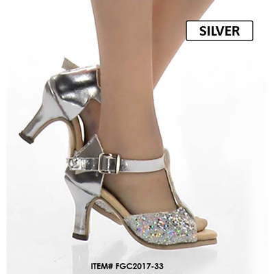 Female Open Heeled Shoes (White)