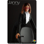 Sexy Janny office lady