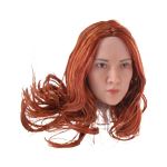 Asian Female Headsculpt (Redhead)