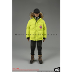 Man's Winter Outfits Set (Yellow)