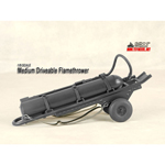 Medium Driveable Flame Thrower (Grey)