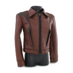 Leather Jacket (Brown)
