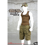 Military Style Summer Outfits (Olive Drab)