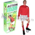 Blond action figure w/ realistic hair