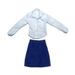 Female Shirt & Skirt Set (Blue)