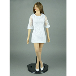 Female Sexy Party Dress (White)