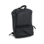 Leather Backpack (Black)