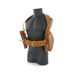 Chauchat suspender with ammo pouch