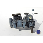 German BMW R75 with Side Car (Gray)