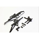 QSZ92 Handgun, QCW05 Sub-machine Gun and QBU88 Sniper Rifle Set