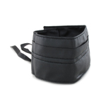Abdominal Leather Belt (Black)