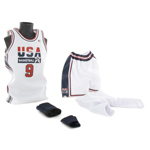 Michael Jordan Basketball set (USA Team Home Kit)