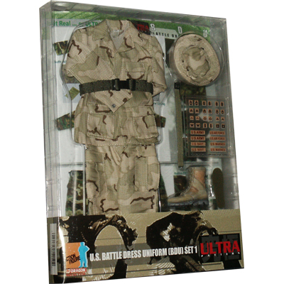 us battle dress uniform set 1