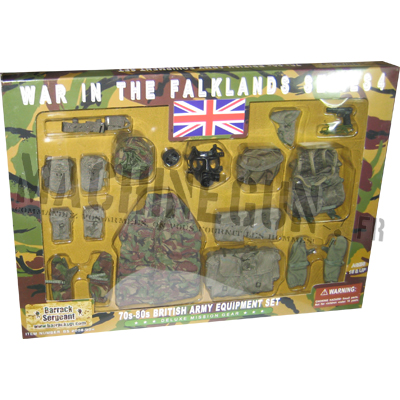 War In The Falklands 1982, set 4 - British army equipment set