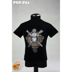 Fashionable Male T-shirt Type B (Black)