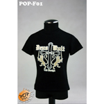 Fashionable Male T-shirt Type D (Black)