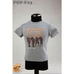 Fashionable Male T-shirt Type D (Grey)