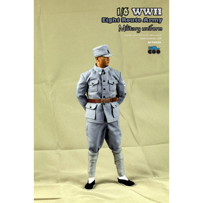 WWII Chinese Eight Route Army Dress Suit Set