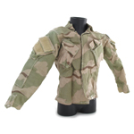 US Army BDU Jacket with Patches (Desert 3 colors)