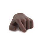 Gloved Left Hand (Brown)