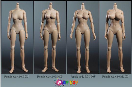 Play toy female body