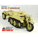 Kettenkrad with trailer (Sand version)