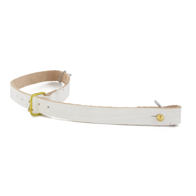 1777 Mousquet White Rifle Sling (leather)