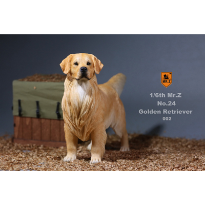 Golden Retriever Dog (Beige)
