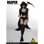 Female Reaper Cosplay Clothing Set