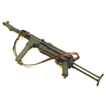 Diecast MP 40 Submachine Gun (Black)