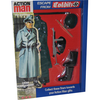 escape from colditz - camp kommandant accessoires