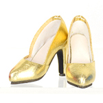 High Heels Female Catwalk Series 2 Shoes (Golden)