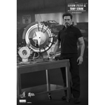 Iron Man 2 - Tony Stark with Arc Reactor Creation Accessories Set