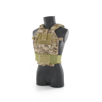 LBT 6094B ( London Bridge Trading Company ) Slick Plate Gen I Plate Carrier in AOR camouflage pattern
