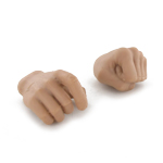 HPC-TOY pair of hands left fist