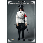 Female SS Officer's Service Uniform Set White