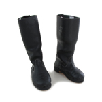 Leather German Marching Boots (Black)
