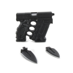 Modular Glock Gun with Small Blades (Black)