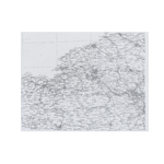 Normandie Map (White)