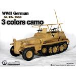 Sd.Kfz.250-3 3 colors camo