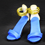 High Heels Female Catwalk Series Shoes (Blue)