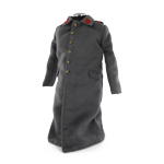 M1908 Overcoat with Red Infantry Collar Tabs (Grey)